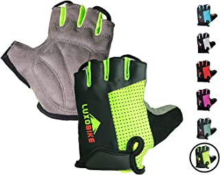 LuxoBike Cycling Gloves Bicycle Gloves Bicycling Gloves...