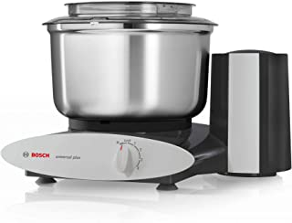 Bosch 800-Watt Universal Plus Stand Mixer (Black) with Stainless Steel Bowl