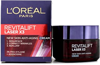 L'Oreal Paris Revitalift Laser X3 New Skin Anti Aging Day Cream, 50ml