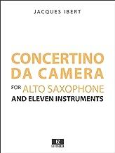 Ibert Concertino da Camera (FULL SCORE) EZ-2331