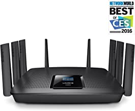 $179 Get Linksys AC5400 Mu-Mimo Wi-Fi Router (EA9500-RM)
