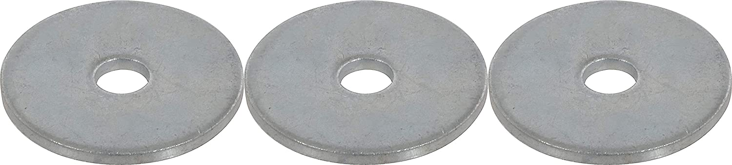 The Hillman Group Zinc Fender Washers 100 Pieces 2 Pack 5//16 x 1-1//4 Steel