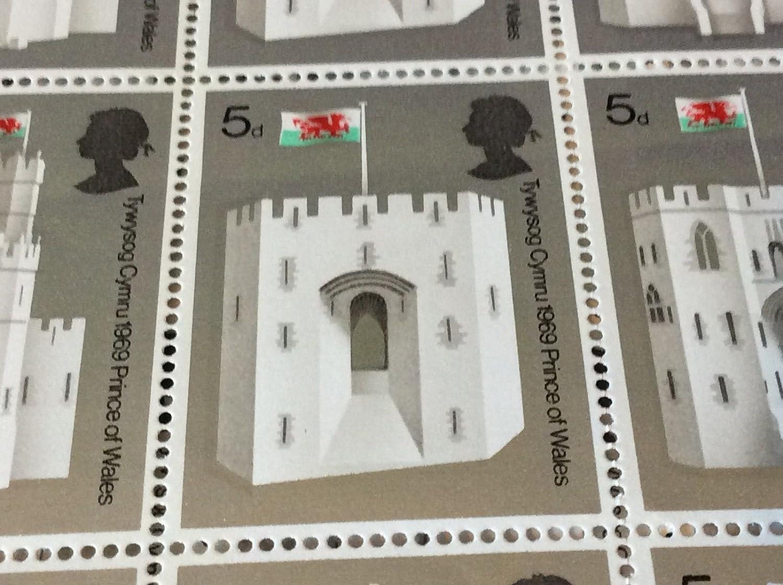Queen Eleanor's Tor Caernarvon Castle 5d 1. 1. 1. Juli 1969 Invest Prince Wales MNH B075JP6WNN | Bestellung willkommen  3efa5b