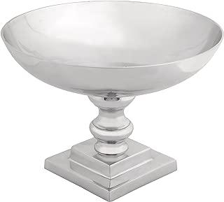 Deco 79 Modern Metal Pedestal Bowl, 10