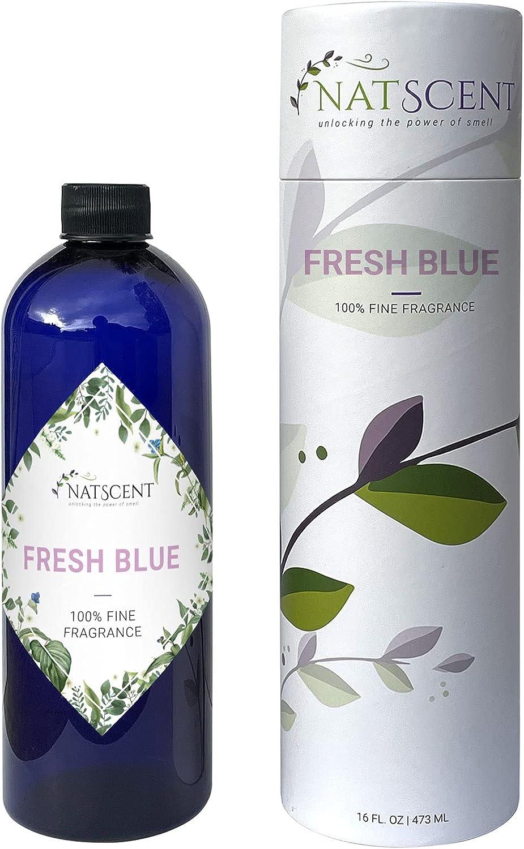 Natscent Large Fresh Blue Fragrance trust Oil Refill Ranking TOP10 for Dynamo Aromat