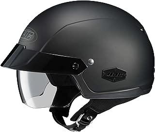 HJC Solid IS-Cruiser Half (1/2) Shell Motorcycle Helmet - Matte Black/X-Large