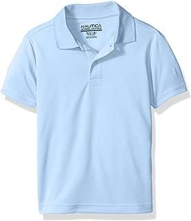 Boys' School Uniform Short Sleeve Performance Polo