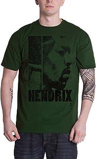 Jimi Hendrix T Shirt Let Me Live 新しい 公式 メンズ Khaki