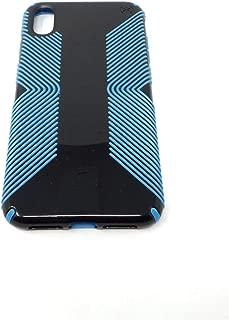 Speck Presidio Glossy Grip Case for Apple iPhone Xs Max 120254-7717 Black/Neptune Blue