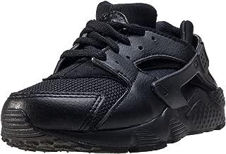 Boy's Huarache Run Shoe, Black/Black/Black, 10.5C