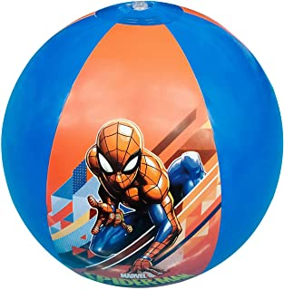 Marvel Spiderman Printed Kids Inflatable Beach Ball.