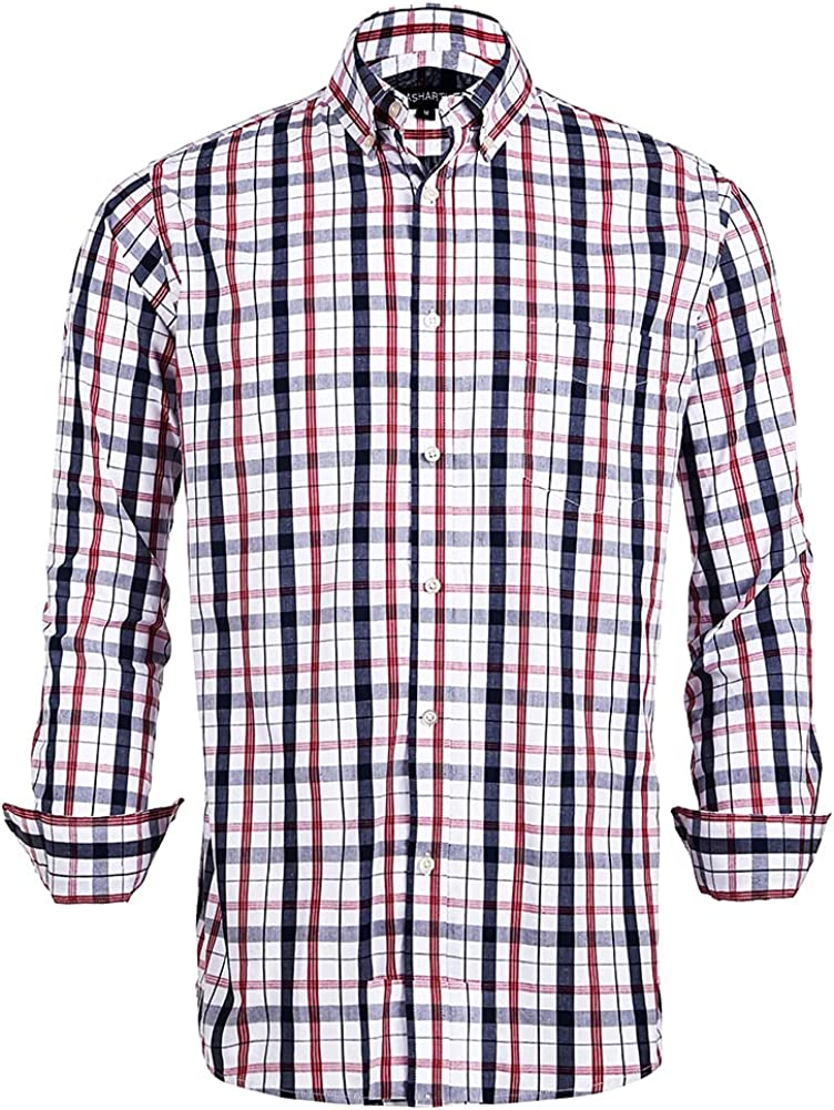 100% Cotton Regular Gorgeous Fit Classic Limited price sale Mens S Long Short and Sleeve