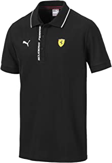 PUMA Formula 1 Mens Scuderia Ferrari Authentic Logo Polo