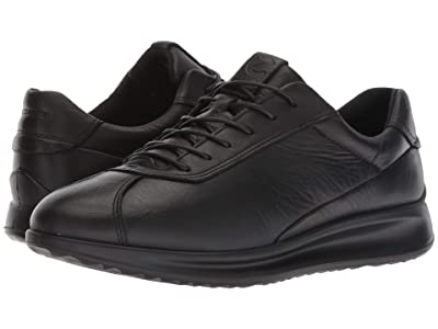 ECCO Aquet Lace (Black Cow Leather) Women
