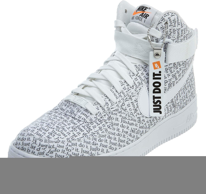Nike NIKEAQ9648-100, Air Force 1, Herren, Hi'07, Lv8 JDI, weiß/schwarz, Aq9648-100 Herren B07GT4Z6JC    Roman