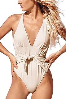 Women's Quiet Elegance Stripe One-Piece Swimsuit Beach Swimwear Bathing Suit