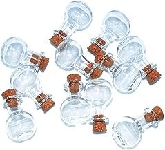 Tim Holtz Idea-ology Tiny Corked Glass Vials 9pcs Assorted Clear