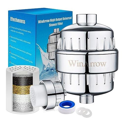 WinArrow No Contaminación Reemplazables de Alta Salida Universal Filtro de la Ducha Purificador de Agua Profunda