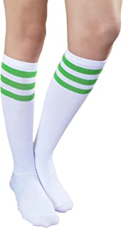 Women Teens Knee High Tube Socks Mid-Calf Socks Costume Cosplay Socks Girls Novelty Socks Gift Socks