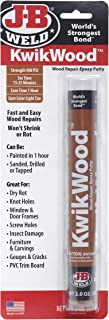 J-B Weld 8258 KwikWood Wood Repair Epoxy Putty Stick-2 oz