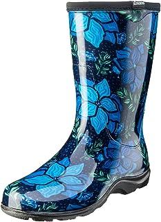 Sloggers 5018SSBL07 5018SSBL08 Spring Surprise Waterproof Boot, 7, Blue, 7