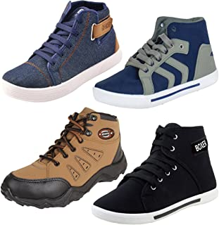 Earton Men Combo Pack of 4 Casual Sneaker Shoe