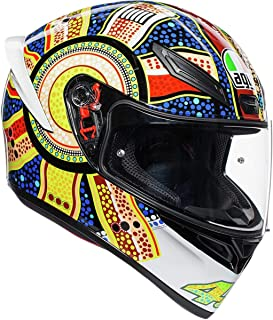 AGV Unisex-Adult Full Face K-1 Dreamtime Motorcycle Helmet (Multi, Medium/Large)