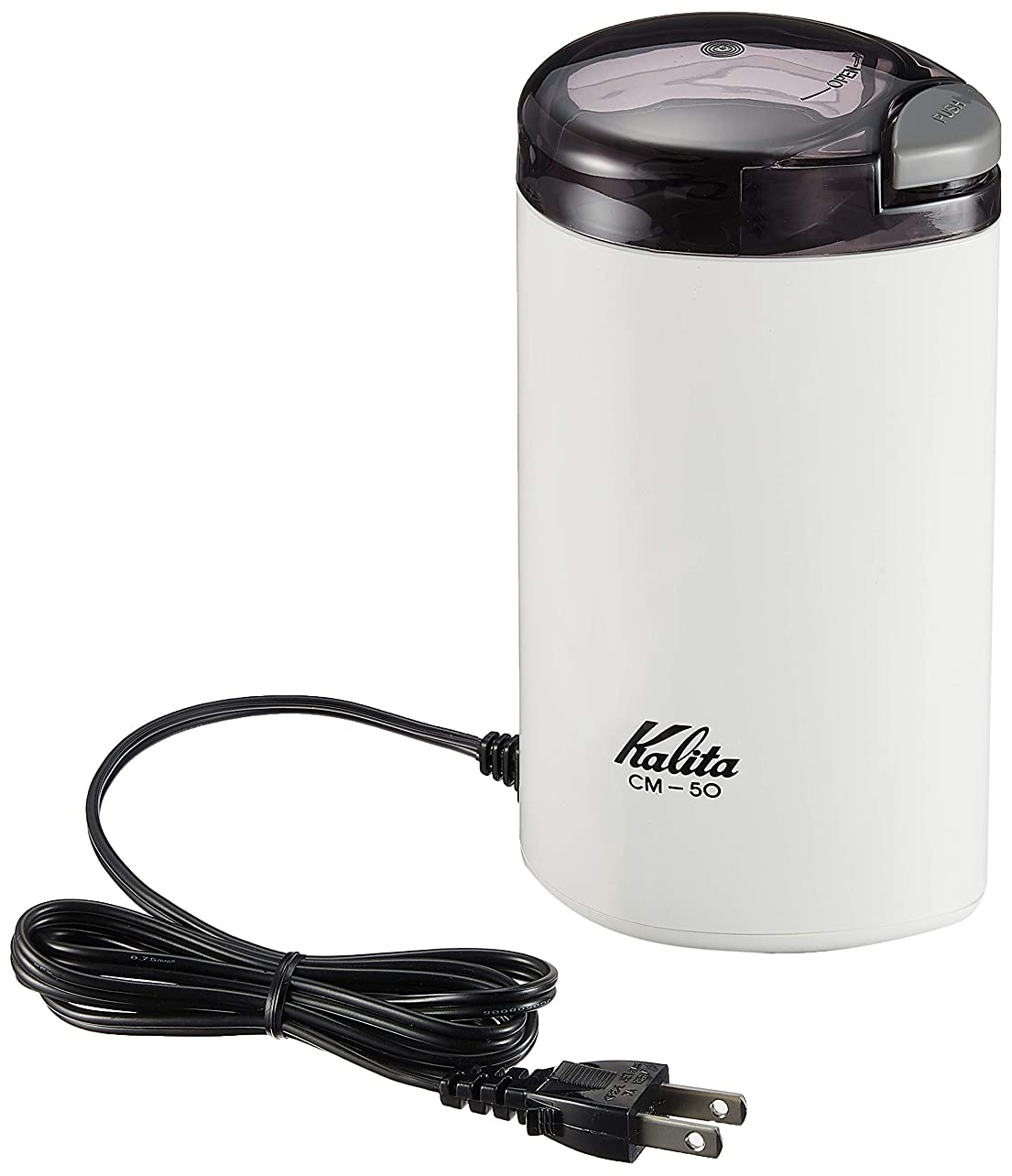 叫ぶ個性泳ぐKalita 電動コーヒーミル CM-50 (ホワイト)