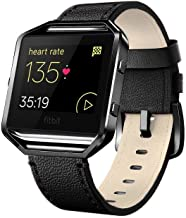 Andyou for Fitbit Blaze Bands Leather with Frame Small Large (5