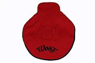 Choostix Woof Winter Coat, Red (Size 22)