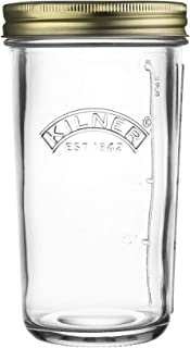 Kilner Wide Mouth Preserve Jar 0.5 Litre, 9 x 9 x 16.5 cm