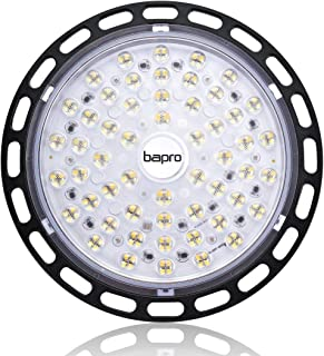 200W 20000LM Lámpara Industrial, 6500K Led Iluminación Comercial UFO LED Lámpara Alta Bahía, Ultra Brillante UFO LED Iluminación Focos Led Lámpara de Techo para Fábricas Almacén Aeropuerto