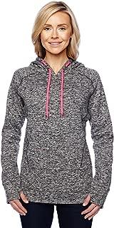 Ladies pullover hooded sweatshirt