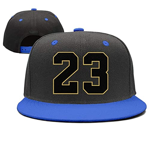 f0aa8d8eb1fdbe Player Jersey Number  23 X Air Jordan Color Snapback Hat Cap Black Yellow  Outline