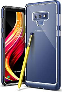 Caseology Skyfall for Galaxy Note 9 Case (2018) – Clear Back & Slim Fit – Ocean Blue