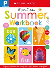 Pre-K Summer Workbook: Scholastic Early Learners (Wipe-Clean Workbook)