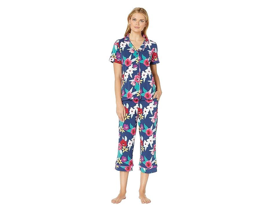 BedHead Pajamas Short Sleeve Cropped Pajama Set (Painter