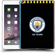 Official Manchester City Man City FC Away 2019/20 Badge Kit Soft Gel Case Compatible for iPad Air 2 (2014)