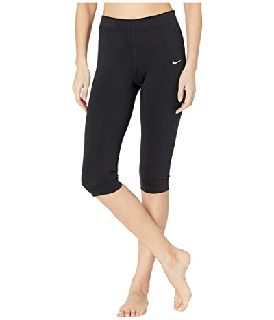 Nike NSW Legasee Leggings Knee Length (Black/White) Women