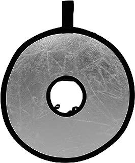 Kenko レフ板 Rレフ ホールレフ 30.5cm シルバー/ホワイト 折りたたみ可能 収納ケース付属 KRR-HTS/W