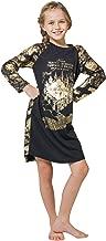 Intimo Big Girls' Harry Potter Marauders Map Raglan Nightgown