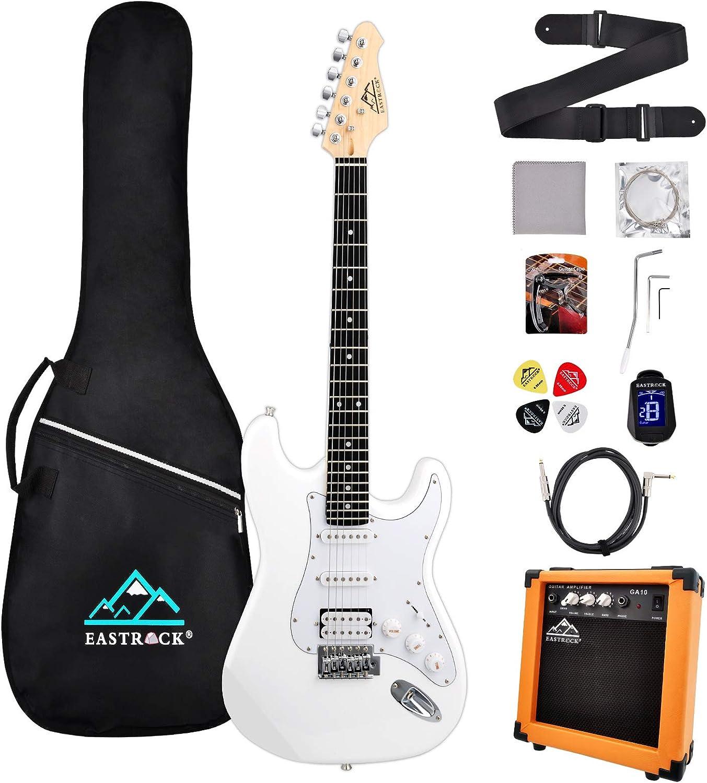 Now on sale Eastrock 39 inch Full Size Electric Kit OFFer Guitar for Star Beginner
