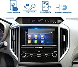 LFOTPP 2018 Crosstrek Impreza Starlink 6.5 Inch Car Navigation Screen Protector, 9H Tempered Glass Infotainment Center Touch Display Screen Protector Anti Scratch High Clarity