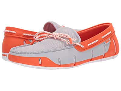 SWIMS Stride Lace Loafer (Alloy/Orange) Men