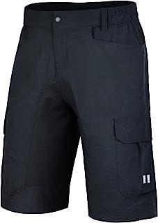Souke Sports Men's Mountain Bike Shorts Baggy MTB Shorts Loose Fit Cycling Bicycle Biking Shorts with Pockets