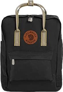 Kanken Greenland Backpack for Everyday, Black/Greenland Backpack for Everyday Pattern