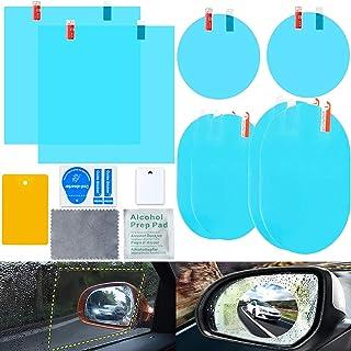 Yihaifu Light Driver Nero Lato Sinistro Specchio retrovisore coperture Specchietto Covers Cappucci di Protezione Custodia per Astra 2004-2008