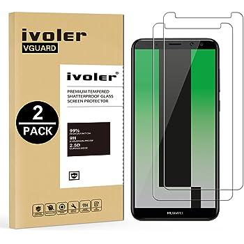 ivoler [2 Unidades] Protector de Pantalla para Huawei Mate 10 Lite ...