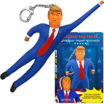 Donald Trump Super Stretchy Keychain - Tremendous Trump Gag Gifts 2020