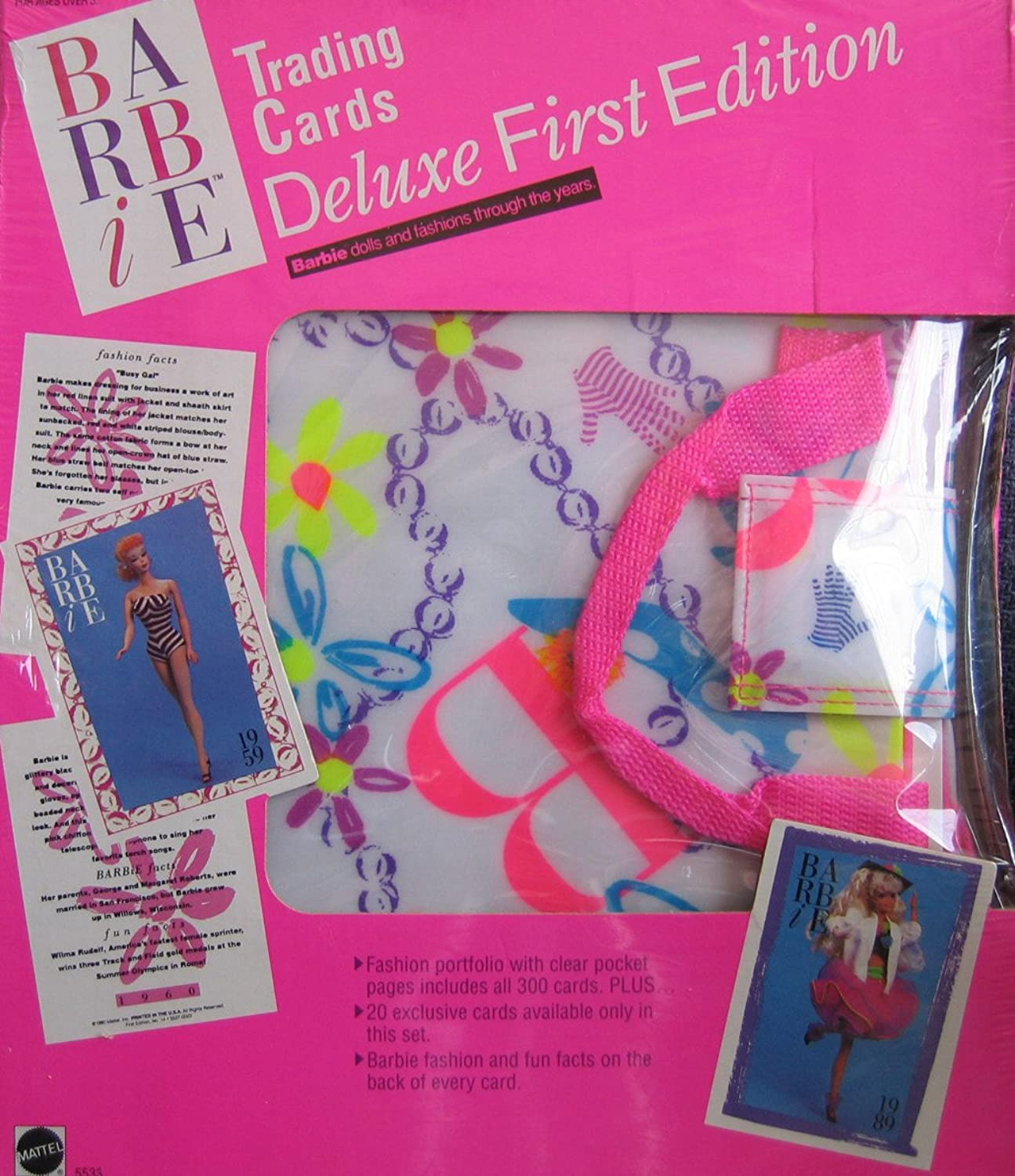 Barbie Trading Cards Deluxe First Edition